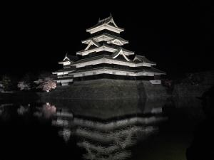 松本城夜間點燈