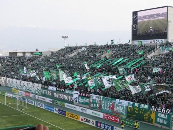 2019 明治安田生命 J1リーグ第5節松本山雅FC VS 川崎フロンターレ