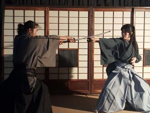 Whole-hearted Samurai Experience in a Castle Town