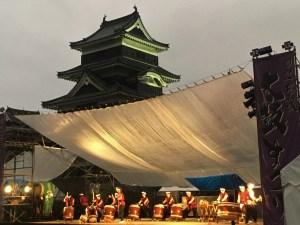 松本城太鼓祭典~7/28、7/29