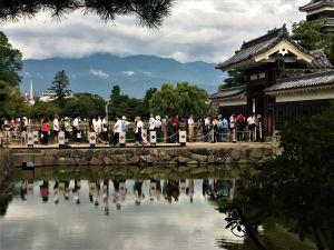 8月13日今日の松本城
