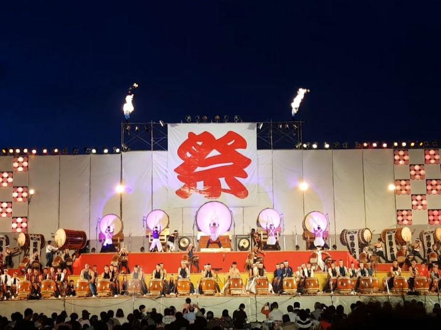 Taiko Festival in Matsumoto's Neighbor City, Okaya