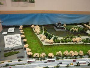 内環状北線整備事業の模型展示