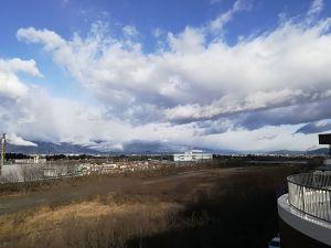 눈이 온 후의 하늘