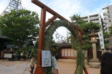 四柱神社夏の大祓