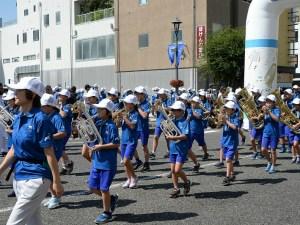 OMF歓迎吹奏楽パレード 2019.8.25