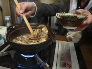 きのこ鍋と蕎麦の夜「酔い亭」