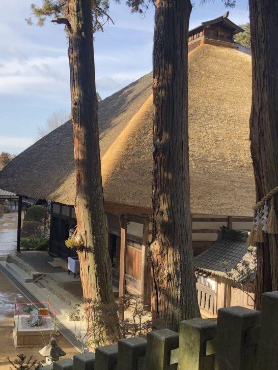 日式草房顶