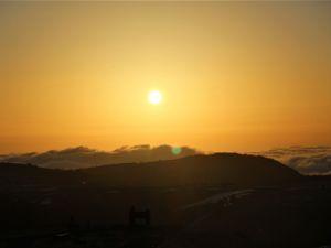 雲の上からおはようございます。美ヶ原高原の朝 王ヶ頭ホテル滞在記1