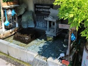 まつもと湧水巡り「女鳥羽の泉」善哉酒造の井戸 東町~鍛冶町~餌差町
