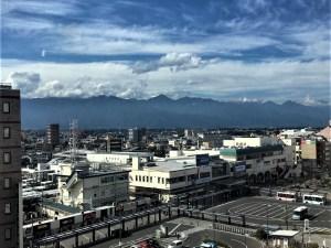眺めのいい駅・眺めのいいレストラン JR松本駅周辺