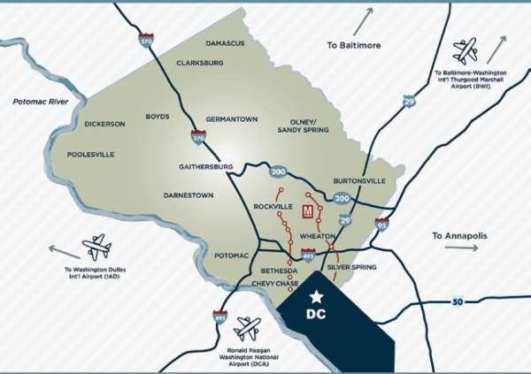 Regional Map | Visit Montgomery
