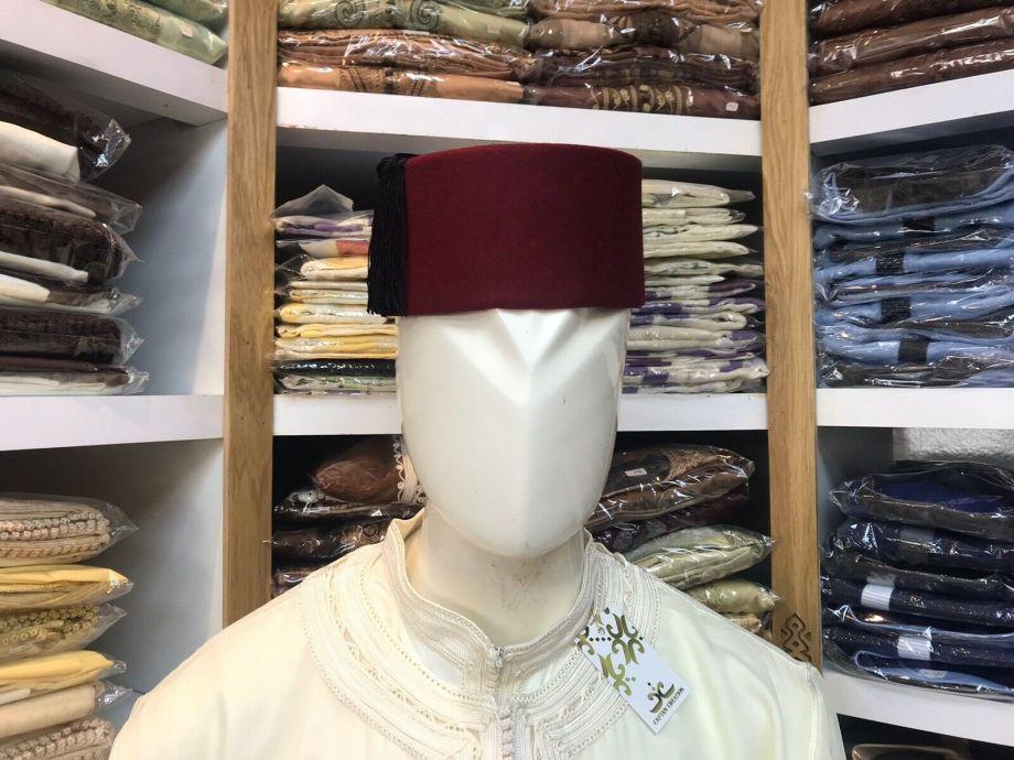AUTHENTIC Moroccan Fez Hat 7