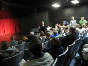 Photo of the audience during the 2015 Comedy Festival