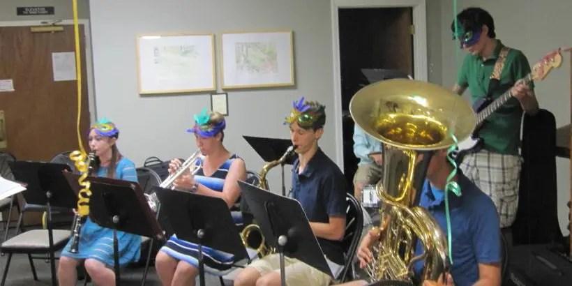 Mount Vernon Jazz Band at Volunteer Appreciation