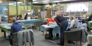 Photo of class participants at a Painting Class offered by Blooming Acres in the FSCC
