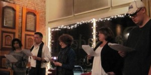 Writers Night at the Pal (now Palisades pen) Group Reading a Play