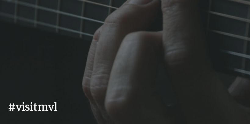 close-up playing guitar chord #visitmvl