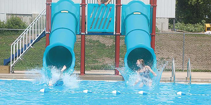Mount Vernon Swimming Pool Slides