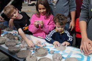 Nice kids at arts fest