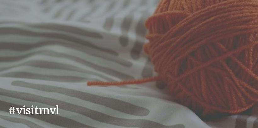 orange yarn