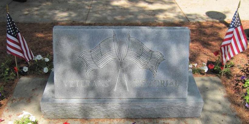 Veterans Memorial Marker