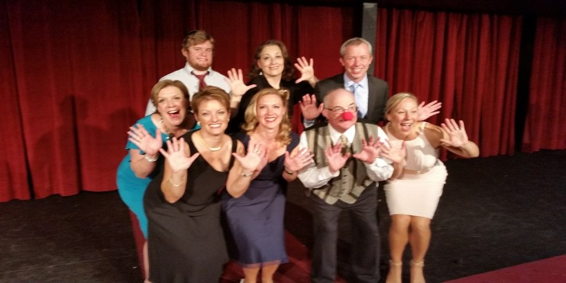 The A-Go-Go Fundraising Team during 2016's Uptown Theatre Honors.