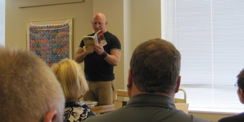 Greg Cotton at Cole Library Book Talk