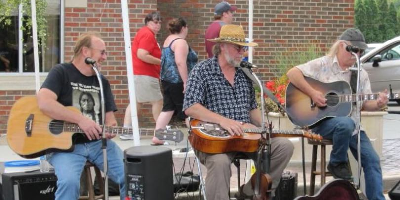 LAFH Mississippi String Band Live Music