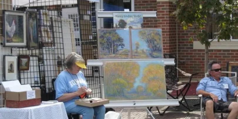 LHAF Artist Booth