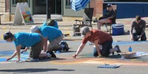 Chalk the Walk Artists May 2018