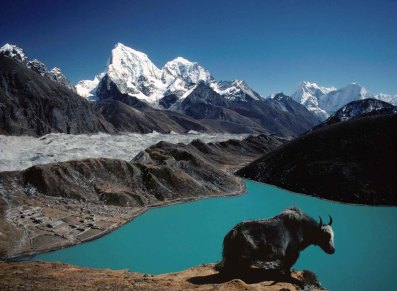 Gokyo valley lies in Khumbu Himalayan range. Gokyo fifth lake trekking offer beautiful Himalayan including four above 8000m mountains and 23 other snow-capped mountains of Khumbu Himalayan range.