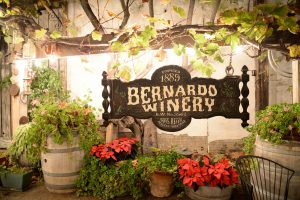 Wine tasting at Southern California's oldest Winery