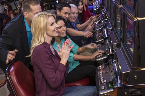 Slot Machines at Valley View Casino