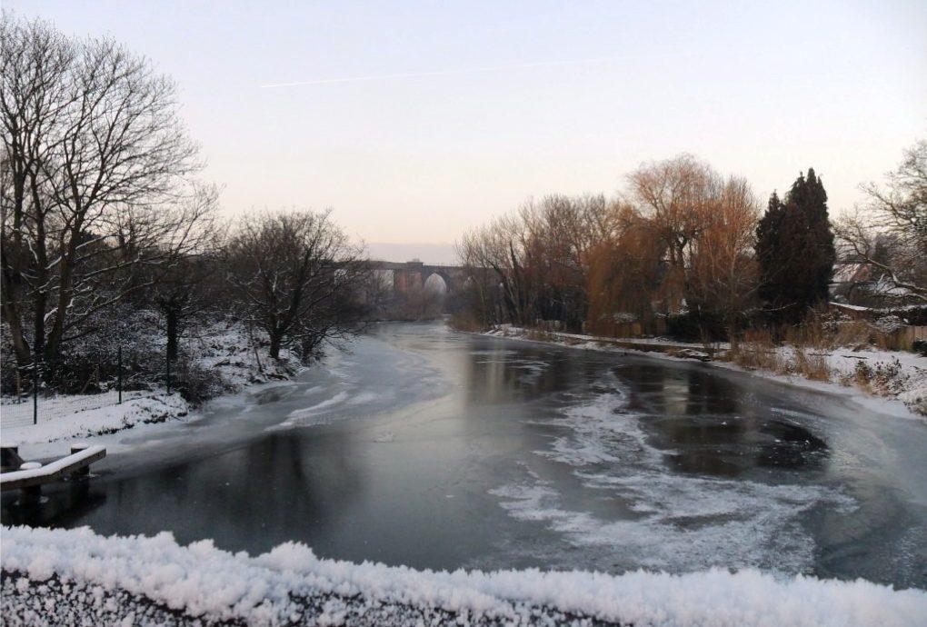 Winter in Northwich