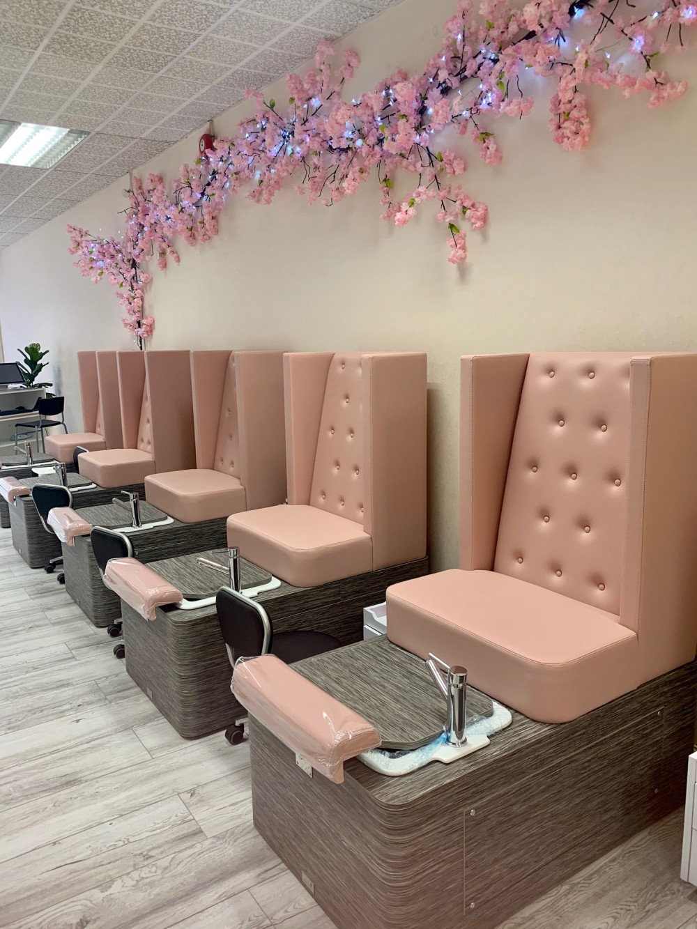 Vanity Salon Pedicure Stations