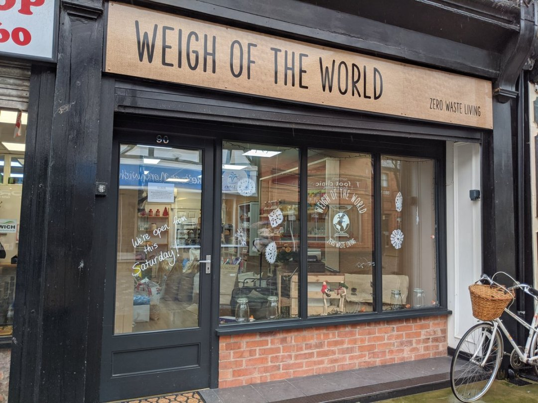 Weigh of the World
