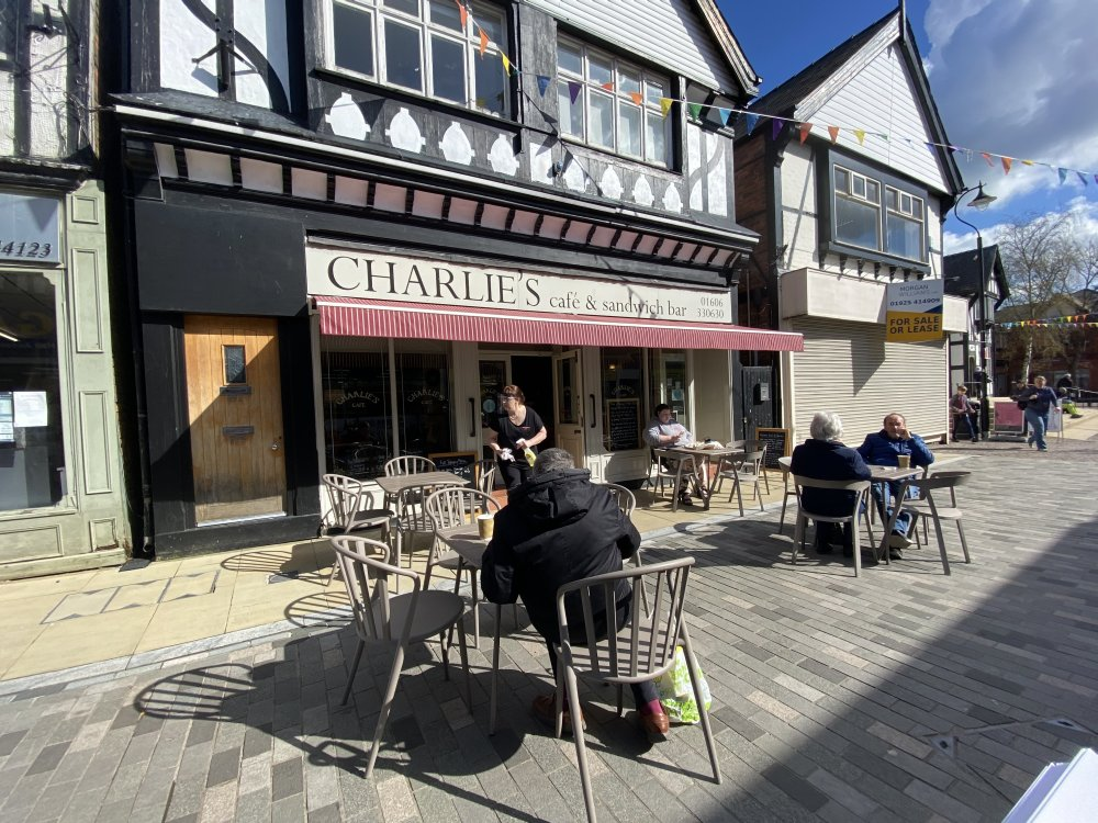 Charlie's Cafe Outdoor Seating