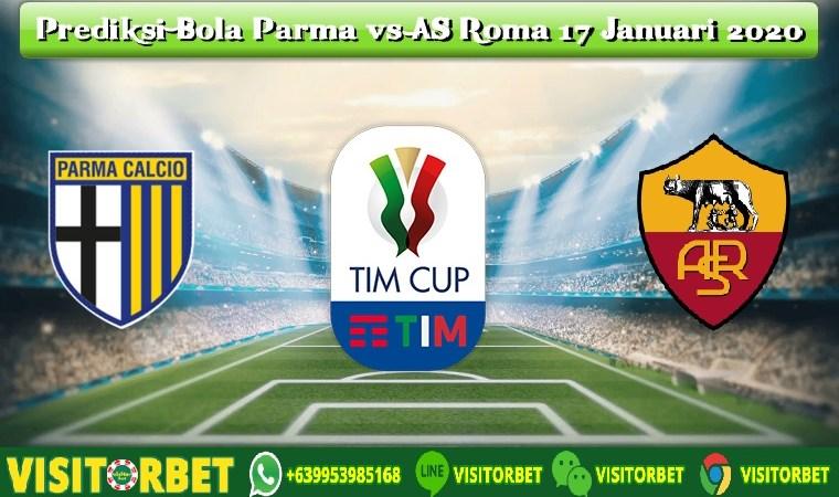 Prediksi Bola Parma vs AS Roma 17 Januari 2020