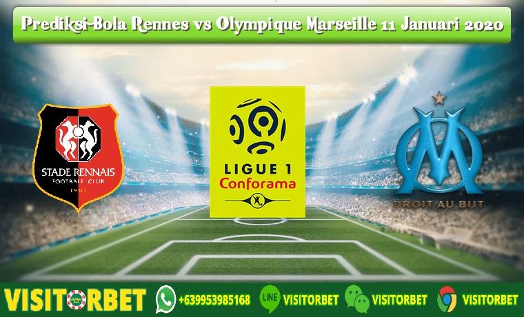 Prediksi Bola Rennes vs Olympique Marseille 11 Januari 2020