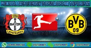 Prediksi Bola Bayer Leverkusen Vs Borussia Dortmund 11 September 2021