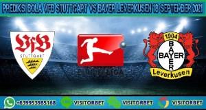 Prediksi Bola VfB Stuttgart Vs Bayer Leverkusen 18 September 2021