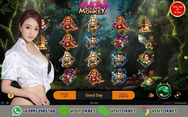 Tips Supaya Menang Bermain Slot Games Golden Monkey Spadegaming