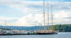 Tall Ship in Nanaimo Harbour