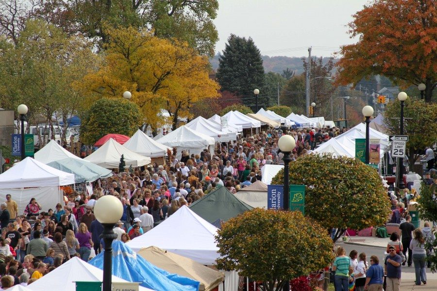 Crafters Day at Clarion's Autumn Leaf Festival