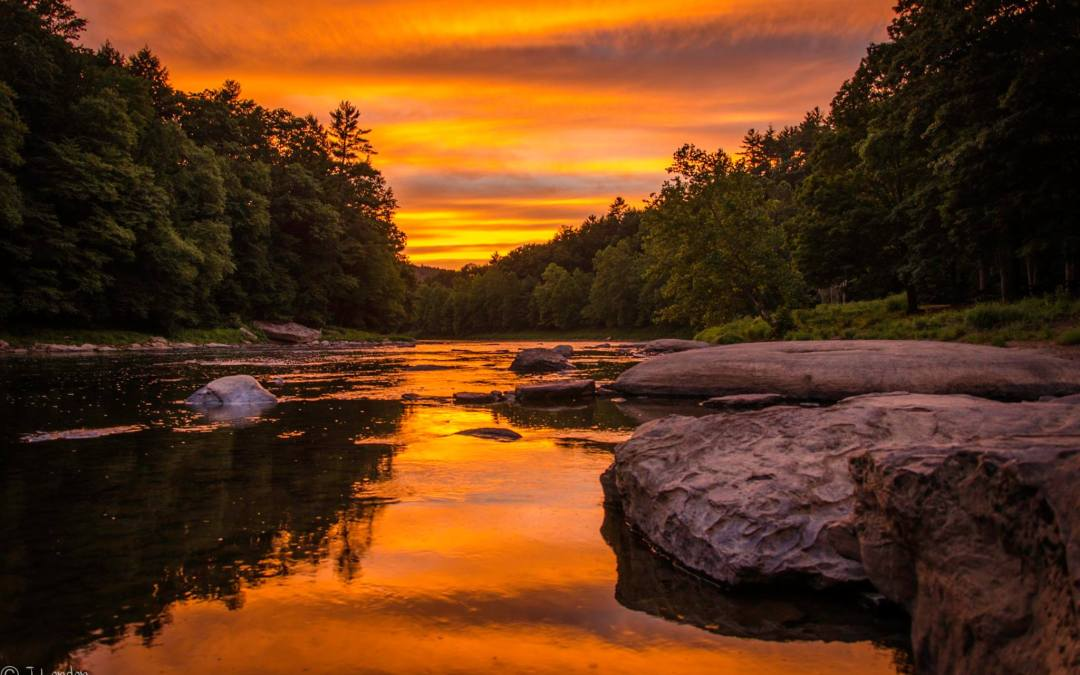 True Tales of the Clarion River: Taking Out a Raft in the Dark
