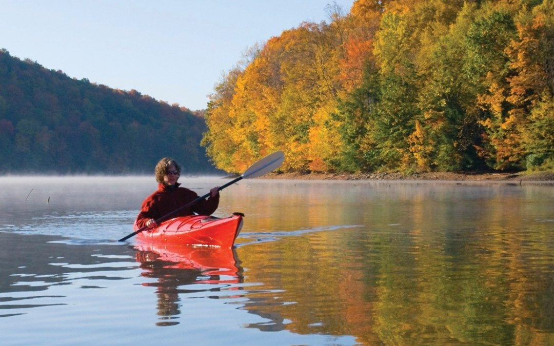 Introduction to Kayaking Workshop at Cook Forest State Park