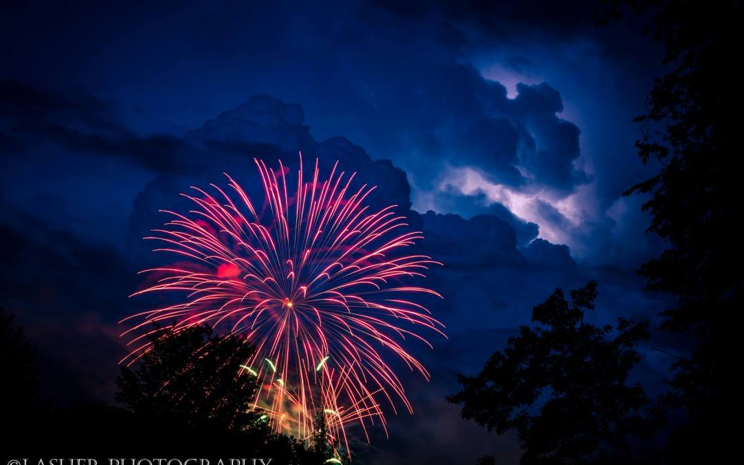 Fireworks in the PA Great Outdoors
