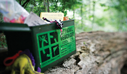 Geocaching in the Pennsylvania Great Outdoors