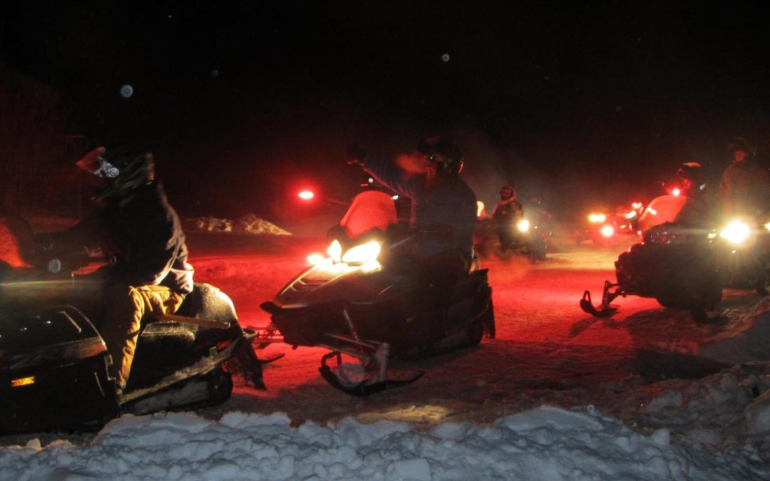 Snowmobiles, Sky Lanterns, and Games and Prizes at Marienville Winterfest
